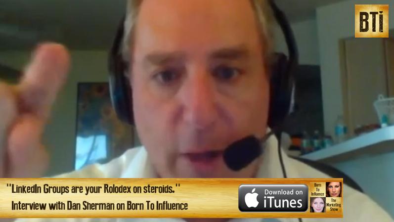 Dan Sherman screen shot for Show Notes Page