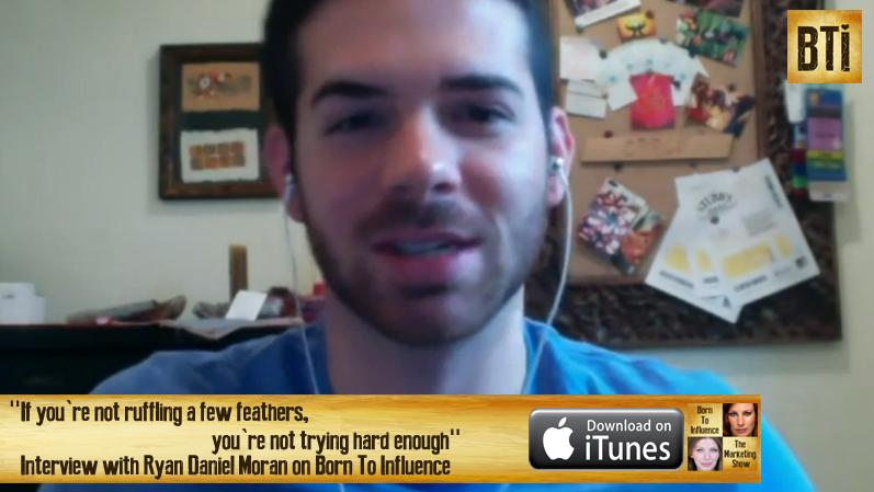Ryan Daniel Moran screen shot for Show Notes Page