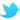 Twitter logo RED 20 by 20 pixels